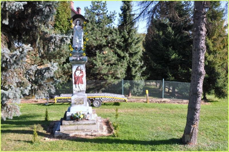 Figurka-Marii-Panny-Gnojnik