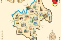 Mapa-zabytkow-gminy-szczurowa